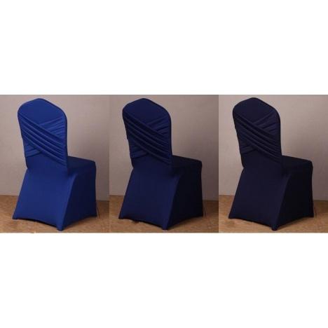 housse de chaise candy bleu
