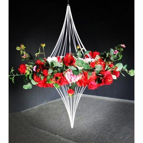 support floral gyroscopique